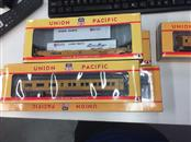 UNION PACIFIC Collectible Plate/Figurine TRAIN SET